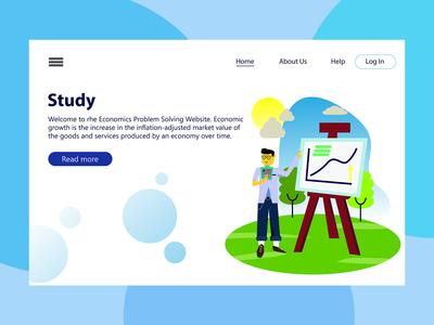 Study-Landing Page Illustration