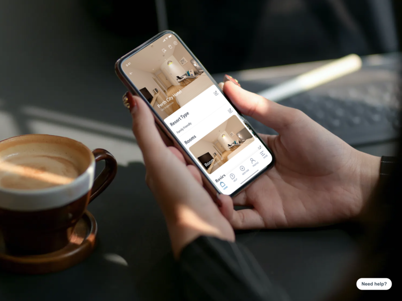 MyFarm Trip android app ios app minimal ux ui promotion travel guide travel agency marketing tour app trips