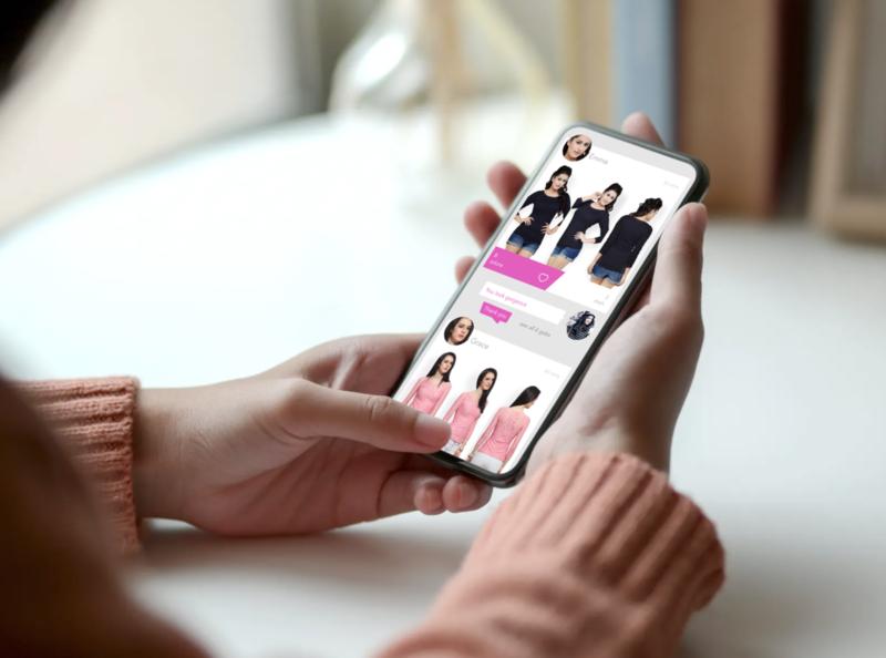 Zelicious App online shop ui ux design minimal fashion app mobile app uiux styleguide style makeup costume