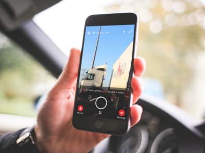 Dubai Police - Incident Report App help people badge ux ui app text audio image video report incident police dubai