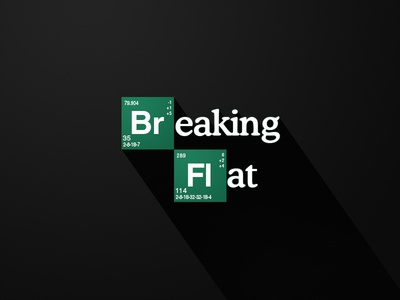 Breaking Flat