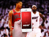 Heat - On to the next ON3 iPhone 5 Wallpaper