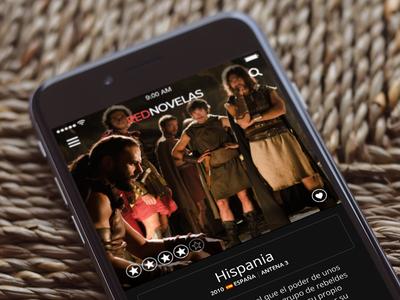 Red Novelas - Series Screen app mobile hulu netflix novelas tv