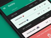 BetSlip - Concept App