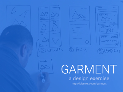 Design Exercise google ui wireframe whiteboard exercise design
