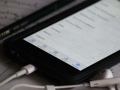 Settings health healthcare telemedicine telehealth design ui settings app ios