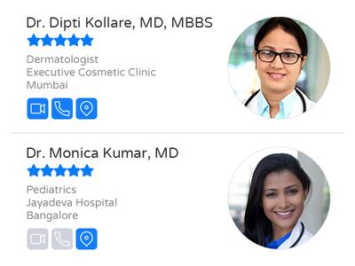 Telehealth app doctor telemedicine telehealth healthcare mobile ui design ui