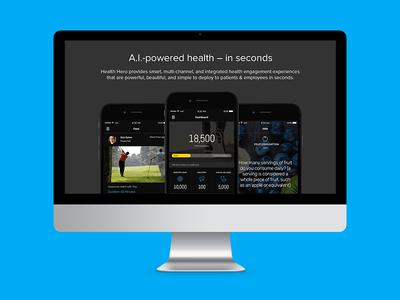 Health Hero Website wordpress website design