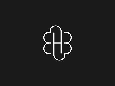 HB & Love logo concept company branding business clean design logo design icon minimal graphic design branding logo