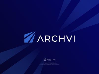 Archvi Logo company logo business design logo design minimal graphic design logo branding