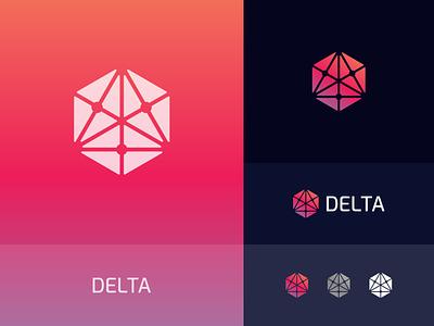 Delta Logo technology logo tech logo logos company logo minimal logo design design graphic design logo branding