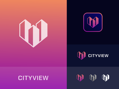Cityview Logo city smartcity technology technologylogo techlogo bussines logo company logo minimal logo design design graphic design logo branding