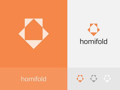 Homifold Logo home logo home logo design minimal design graphic design logo branding