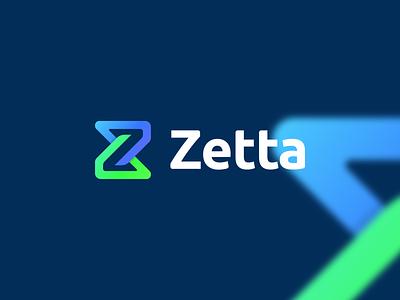 Zetta Logo tech logo technology logo company logo zetta logo z logo letter z logo design minimal design graphic design logo branding