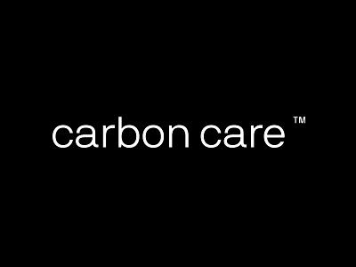 Carbon Care type typography logotype logo identity design design