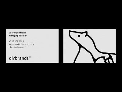 Identity Outtake business card design bear animal identity branding logo vector illustration brand identity logo design identity design design
