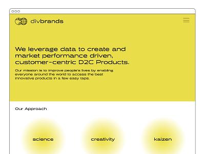 Website Style Test bear logo design branding identity design d2c growth marketing agency website landing page web design design