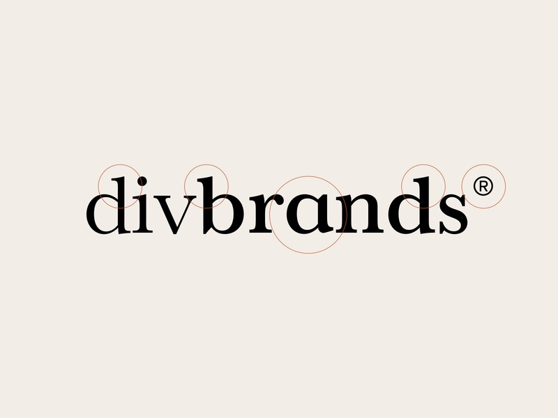 Divbrands® Bespoke Typeface word mark bespoke type logo identity branding brand identity identity design logo design logotype typography