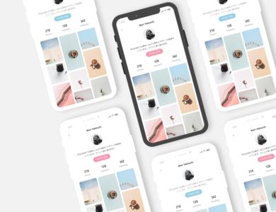 DailyUI - Profile Screen