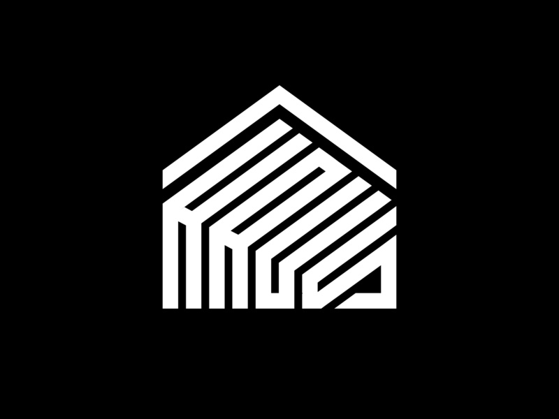 haus logo which means house in german monogram icon concept element company creative home vector homepage german house logo haus house