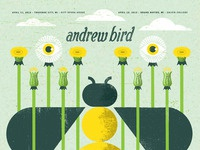 Andrew bird bee dribbble