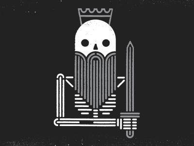 Dead king dribbble