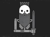 Dead King tshirt design