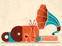 Still Life With Vinyl