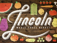 Whole Foods Mural and Logo