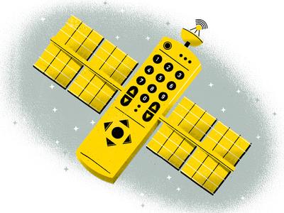 Remote Satellite science broadcast television remote control remote satellite celestial space distress texture