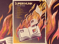 Superchunk gigposter