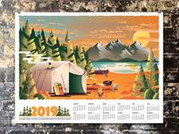 2019 Camp Calendar