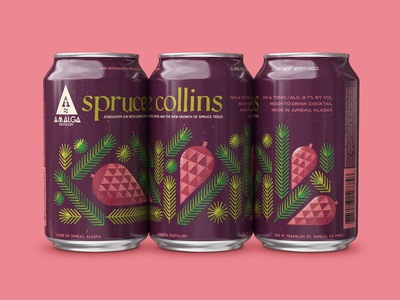 Spruce Collins Canned Cocktail
