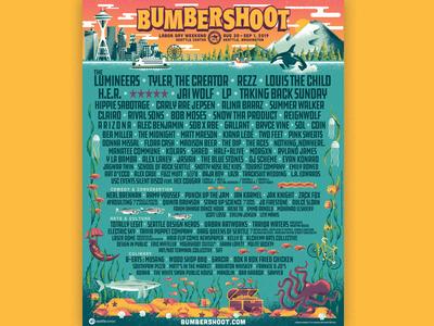 Bumbershoot Festival Branding