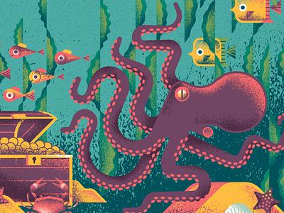 Bumbershoot Octopus kelp seaweed animals crab fish octopus washington seattle puget sound sea ocean festival music bumbershoot