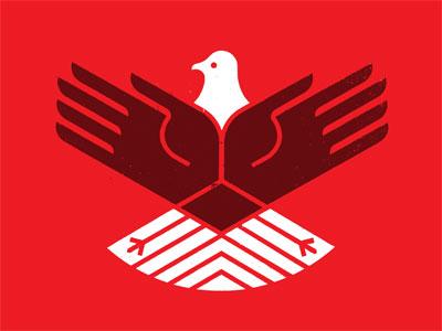 'Murica! shirt eagle bird hands america patriotic texture distress icon