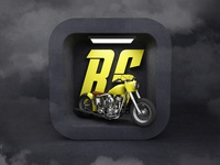 App icon for bikers