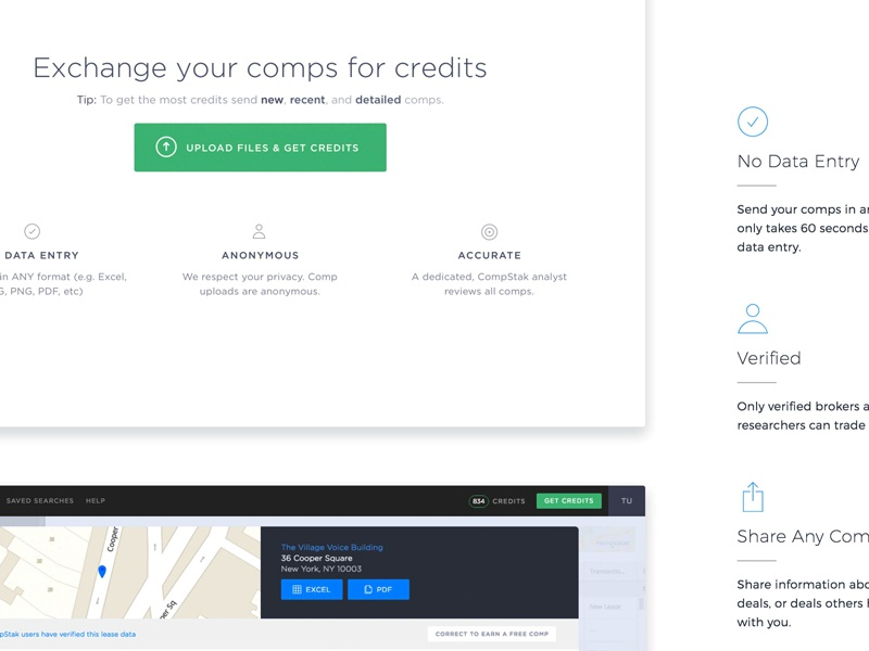 Landing page scrolling thingy
