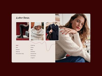 & Other Stories online shop online shopping online store accessories bags sale online shop clothes shop fashion ux ui design website