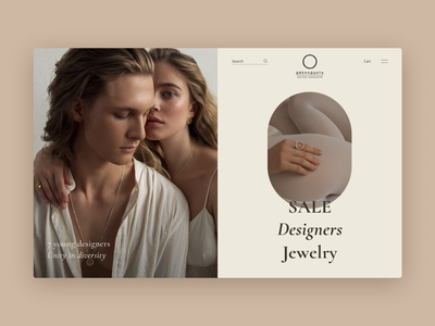 Jewelry Store online shopping online store online shop store shop jewelry accessories ux ui design fashion website