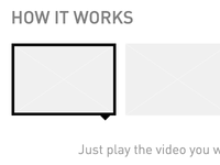 Wireframe Information Toggle