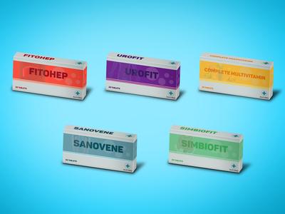 Sanvero - medicine box presentation