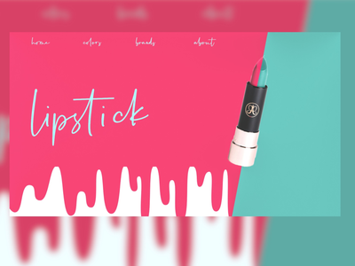 💄 pink blue xd design xd uxui ux  ui color lipstick web design website design graphic design illustration art illustrator illustration art ui design uidesign ux ui