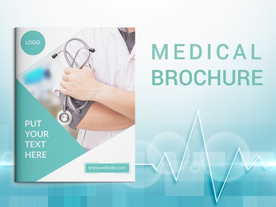 Medical brochure cover page