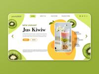 Homepage Juice Store - Kiwi Juice