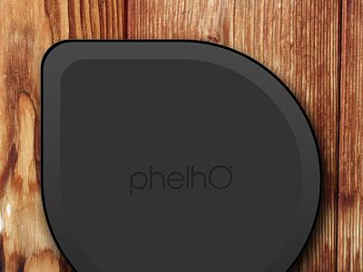 PhelhO Mesh Wireless Router (Bottom) vector minimal branding brand simple design clean