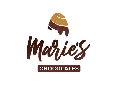 Marie's Chocolates Logo