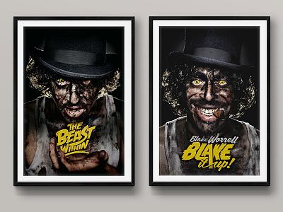 Blake Worrell E.P. album artwork logo design cover artwork and poster design