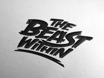 The Beast Within logo design