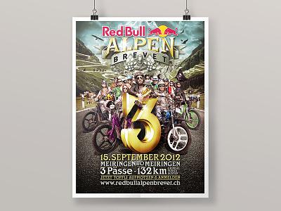 Third Edition of Red Bull Alpenbrevet